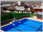 Hotels Madrid, Piscina